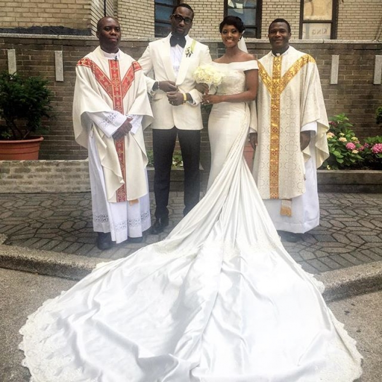 Wedding Gowns And Prices In Nigeria : Osas ighodaro s magnificient wedding gown photos