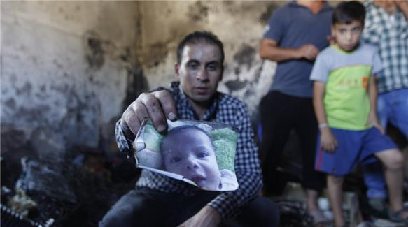 Palestinian Baby Burned To Death In Settler Attack