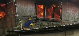 Fire Guts Two Warehouses In Lagos