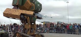 Japanese Firm Accepts Mecha Robot Battle Challenge From United States