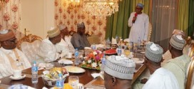 President Buhari breaks the Ramadan fast at Aso Villa | Photos