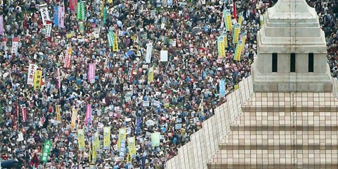 Tens Of Thousands Of Japanese Protest Against 'War Law'