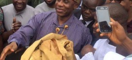 See How Amaechi Was Welcomed In Port Harcourt This Morning [Photos]