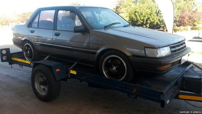 South Africa Police Recover Stolen Car 22 Years After Information