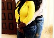See What Isabella Ayuk And Mercy Johnson Are Doing Behind The Camera [PICTURED]
