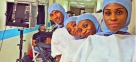 EBOLA SCARE: Popular Nollywood Actress Turns Doctor | Photos