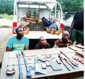 We Defile Our Victims Before Killing Them – Robbery Suspects [Picture With Weapon]
