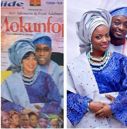 See What A Yoruba Movie Director Did To Someone S Traditional Wedding Photo