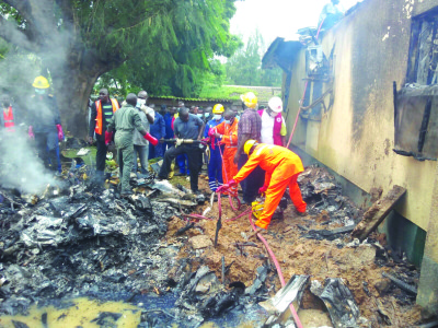 Victims Of NAF Plane Crash Identified