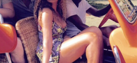 Beyonce Stuns In New Vacation Photos…….