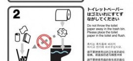 Japanese City Paste Toilet Instructions For Confused Tourists