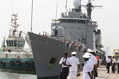 Navy Nabs Ship With 400 Truckload Of Stolen Crude
