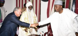 Saraki Hosts Kano Emir, Dangote, Promises Investors An Attractive Business Environment
