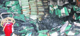 Abia Gov Condemns Burning Of INEC Office By Suspected Political Thugs