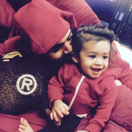 Chris Brown's baby mama `fears` to leave Royalty alone with him