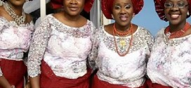 Photo: Joke Silva Rocking Same Outfit With Her Sisters