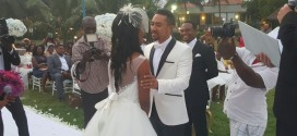 Ghanaian Star, Majid Michel Renew Wedding Vows With Wife After 10 Years