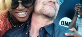 Photos: Waje And Lengendary Bono Of U2 Meet, Hang Out In Nigeria