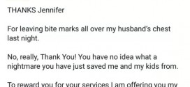 Angry wife writes letter to her cheating husband's mistress..and it's priceless! [Snapshots]