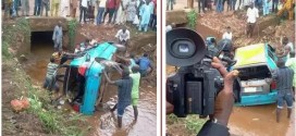 Car Plunge In Water With 4 Passangers In Akure [Photos]