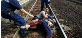 Refugee Couple Throw Themselves On Train Tracks To Avoid Being Taken To Camp [PHOTOS]