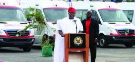 Ambode Donates 46 Ambulance, Power Bikes For Health, Crime