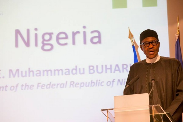 Buhari in France
