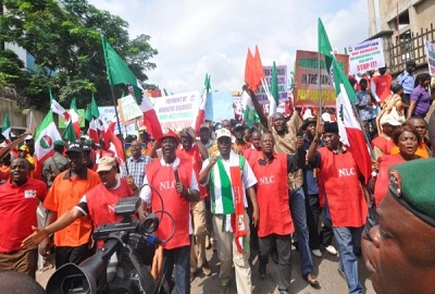 NLC-TUC Rally against corruption