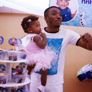 HOW SWEET!!! Ace Comedian Bovi And Daughter Share Thesame Birth Date