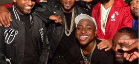 Photos: Davido Parties With Young Jeezy, Trey Songz + Trio Share Drinks Bill In The Club
