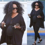 Diana-Ross-spotted-with-a-bump