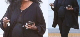 Music Legend, Diana Ross Pregnant At 71?!?