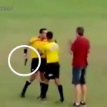 Referee-pulls-a-gun-during-dispute-at-soccer-game-in-Brazil