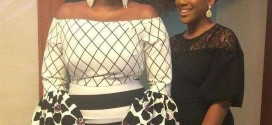 Photos: Waje And Daughter Stun At Tinsel Charity Ball!