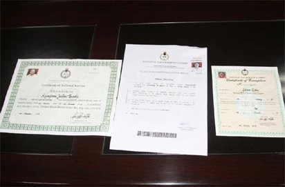 NYSC Unveils New Discharge Certificate For Corps Members