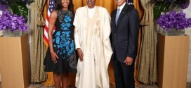 Photo Of Buhari With Barack And Michelle Obama