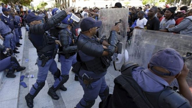 South Africa Hit By Its Biggest Student Violence Since ...