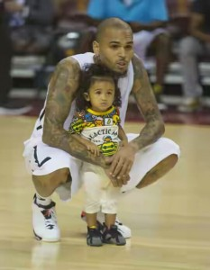 Chris Brown And Baby-mama Agrees To Raise Daughter 'Royalty' Together