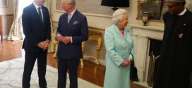 PHOTOS: President Buhari Having A Chat With Queen Elizabeth II Today