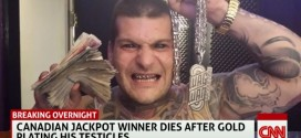 Canadian Lottery Jackpot Winner Dies After Gold Plating His Balls