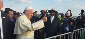 Pope Francis arrives Uganda | Photos