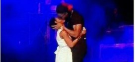 AGAIN!!! Flavour And Chidinma Kiss Passionately On Stage At #Phynofest [PHOTO]