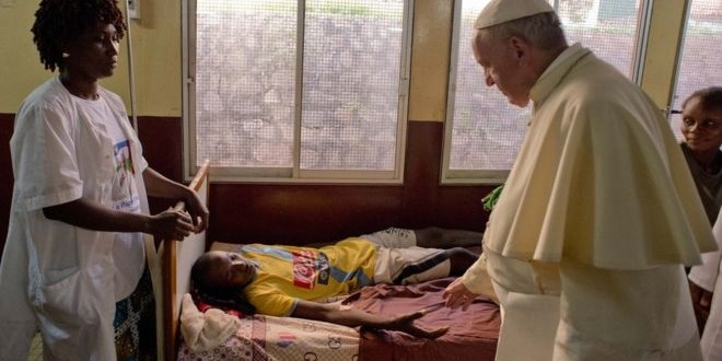Pope Francis Visits Mosque In Central African Republic Capital