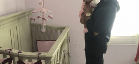 Davido Spending Some Daddy Time With His Adorable Daughter, Imade [Photo]
