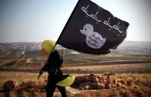 SEE This Internet Mockery Of ISIS Where Rubber Ducks Were Edited Into Its Recruitment Photos