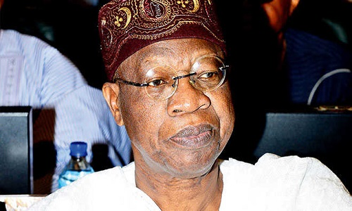 Media Cannot Afford To Be Neutral On Issue Of National Unity – Lai Mohammed