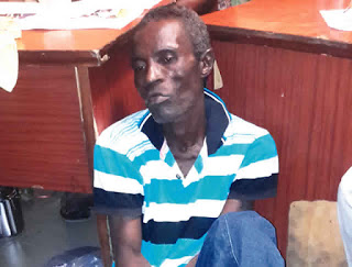 How I Deceive Customers Into Buying Soap Instead Of Phones, 54 Year Old Suspect Explains