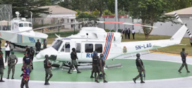 Ambode Presents Helicopters, Gunboats, Vehicles To Police To Improve Security In Lagos