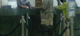 Photo: Security Conscious Bank Customer In Kaduna Wears Two Trousers To Make Withdrawal