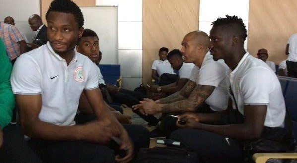 Photos: Super Eagles Depart For Swaziland Ahead Of Their World Cup Qualifier Match